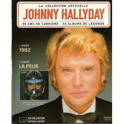 LA COLLECTION OFFICIELLE JOHNNY HALLYDAY VOL. 21 LA PEUR 1982