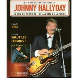 LA COLLECTION OFFICIELLE  JOHNNY HALLYDAY VOL. 15  SALUT LES COPAINS  1961