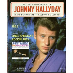 LA COLLECTION OFFICIELLE  JOHNNY HALLYDAY VOL. 34  SINGS AMERICA'S ROCKIN' HITS  1962
