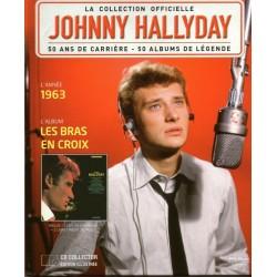 LA COLLECTION OFFICIELLE  JOHNNY HALLYDAY VOL. 36  LES BRAS EN CROIX  1963
