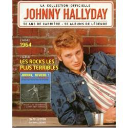 LA COLLECTION OFFICIELLE  JOHNNY HALLYDAY VOL. 22 LES ROCKS LES PLUS TERRIBLES  1964