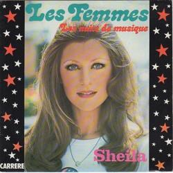 45T LES FEMMES - SHEILA