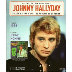 LA COLLECTION OFFICIELLE  JOHNNY HALLYDAY VOL. 27  JEUNE HOMME  1968