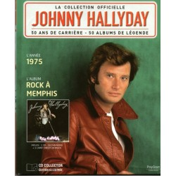 LA COLLECTION OFFICIELLE  JOHNNY HALLYDAY VOL. 25  ROCK A MEMPHIS  1975