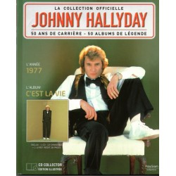 LA COLLECTION OFFICIELLE  JOHNNY HALLYDAY VOL. 19  C'EST LA VIE  1977
