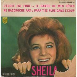 45T L'ECOLE EST FINIE - SHEILA