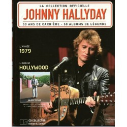 LA COLLECTION OFFICIELLE  JOHNNY HALLYDAY VOL. 24  HOLLYWOOD  1979