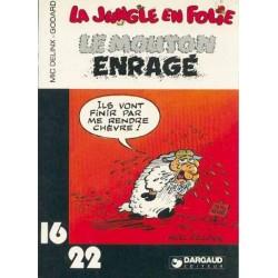 LA JUNGLE EN FOLIE - LE MOUTON ENRAGE - M. DELINX et GODARD - 16/22 - DARGAUD