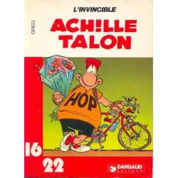 ACHILLE TALON - L'INVINCIBLE - GREG - 16/22 - DARGAUD