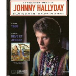 LA COLLECTION OFFICIELLE  JOHNNY HALLYDAY VOL. 37  REVE ET AMOUR  1968