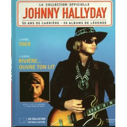 LA COLLECTION OFFICIELLE  JOHNNY HALLYDAY VOL. 9  RIVIERE OUVRE TON LIT  1969