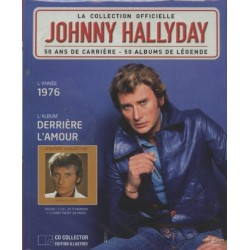 LA COLLECTION OFFICIELLE  JOHNNY HALLYDAY VOL. 2  DERRIERE L'AMOUR  1976