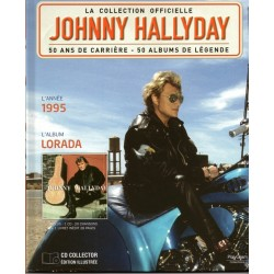 LA COLLECTION OFFICIELLE  JOHNNY HALLYDAY VOL. 8  LORADA  1995