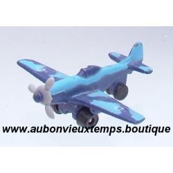 HERPA AIRCRAFT AVION PLANE P 51 D MUSTANG BLEU