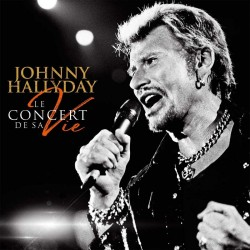 CD x 2 + DVD COFFRET COLLECTOR JOHNNY HALLYDAY - LE CONCERT DE SA VIE   63 TITRES