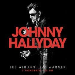 CD x 12   COFFRET COLLECTOR JOHNNY HALLYDAY - LES ALBUMS LIVE WARNER   183 TITRES