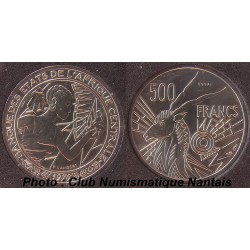 500 FRANCS ESSAI - AFRIQUE CENTRALE