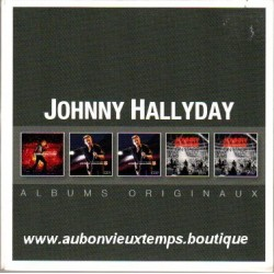CD x 5 COLLECTOR JOHNNY HALLYDAY - ALBUMS ORIGINAUX WARNER