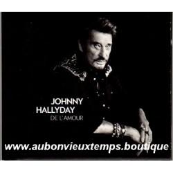 CD COLLECTOR JOHNNY HALLYDAY - DE L'AMOUR 2015