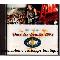 CD  JOHNNY HALLYDAY - PARC DES PRINCES  1993