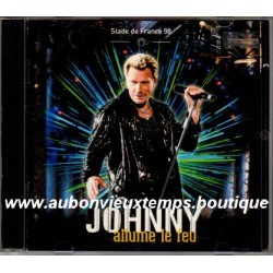 CD x 2 JOHNNY HALLYDAY - JOHNNY ALLUME LE FEU 1998