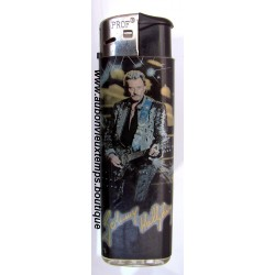 BRIQUET  JOHNNY HALLYDAY  N°4   2003