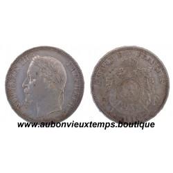 5 FRANCS NAPOLEON III  1868 A
