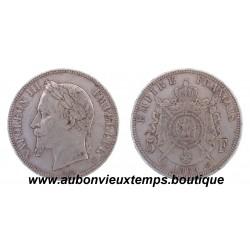 5 FRANCS NAPOLEON III  1869 BB