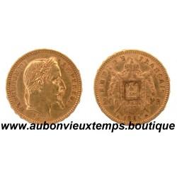 20 FRANCS NAPOLEON III 1861 A