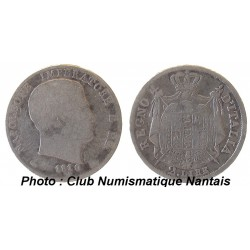 2 LIRE 1810 M  NAPOLEON - ITALIE  ARGENT