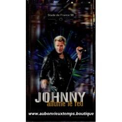 COFFRET 3 CD JOHNNY ALLUME LE FEU - STADE DE FRANCE 98 MERCURY 36 TITRES 1998