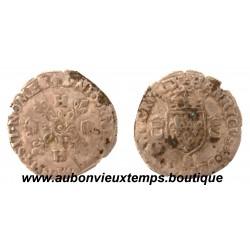 DOUZAIN AUX CROISSANTS  HENRI  II  1551 B  ROUEN