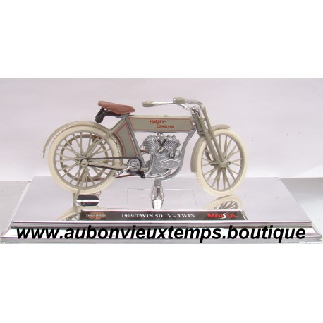 MAISTO  1/18  HARLEY DAVIDSON 1909 TWIN 5 D V-TWIN