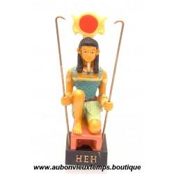 STATUETTE DIEU EGYPTIEN HEH PLASTOY