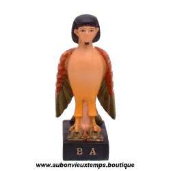 STATUETTE DIEU EGYPTIEN BA PLASTOY