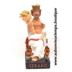 STATUETTE DIEU EGYPTIEN SERAPIS PLASTOY