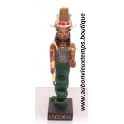 STATUETTE DIEU EGYPTIEN APADEMAK PLASTOY