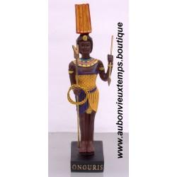STATUETTE DIEU EGYPTIEN ONOURIS PLASTOY