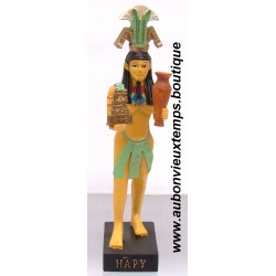 STATUETTE DIEU EGYPTIEN HAPY PLASTOY