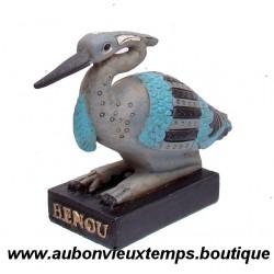 STATUETTE DIEU EGYPTIEN BENOU PLASTOY