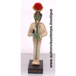 STATUETTE DIEU EGYPTIEN KHONSOU PLAYSTOY