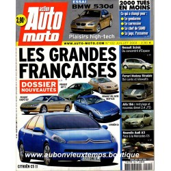 ACTION AUTO MOTO JUILLET 2003 -  PEUGEOT 507 - 607 - CITROEN C6 - RENAULT VEL SATIS - BMW 530 D