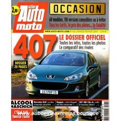 ACTION AUTO MOTO JANVIER - FEVRIER 2004 -  PEUGEOT 407