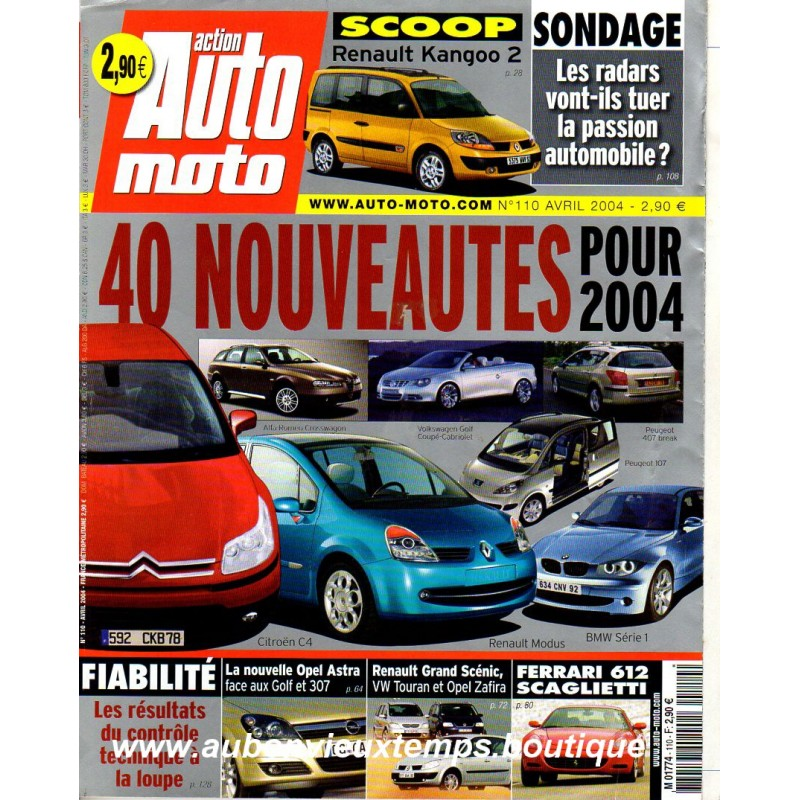 ACTION AUTO MOTO AVRIL 2004