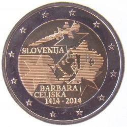 2 EUROS COMMEMORATIF 2014 - SLOVENIE