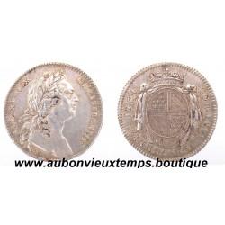 JETON LOUIS XV  ARGENT  ETATS DE BOURGOGNE   1764