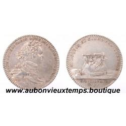JETON LOUIS CHARLES DE BOURBON - ARTILLERIE  1741