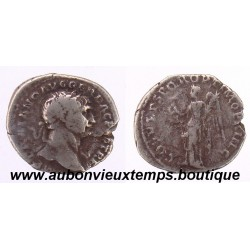 DENIER ARGENT TRAJAN  98 - 117 ap JC  - LA VICTOIRE