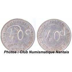 40 d / 50C TN COMPAGNIE DES TRAMWAYS DE NANTES
