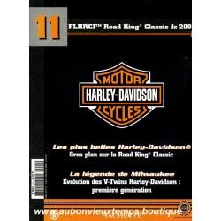 FASCICULE  HACHETTE  - HARLEY DAVIDSON  N°11